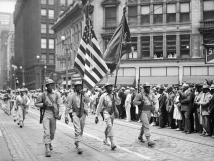 372nd Infantry Color Guard,1942