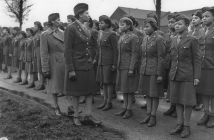 WAC Inspection, 1945
